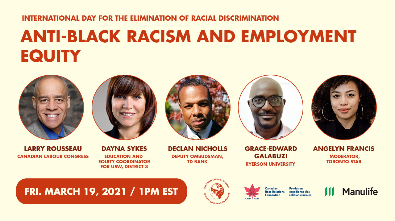 Anti-Black Racism and the Employment Equity Act