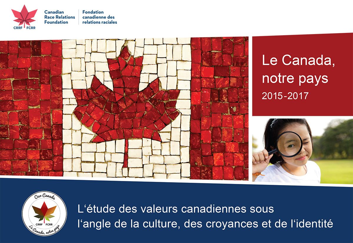 Le Canada Notre Pays Booklet cover fr