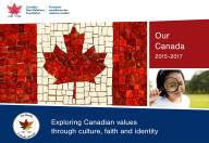 Our Canada Booklet cover