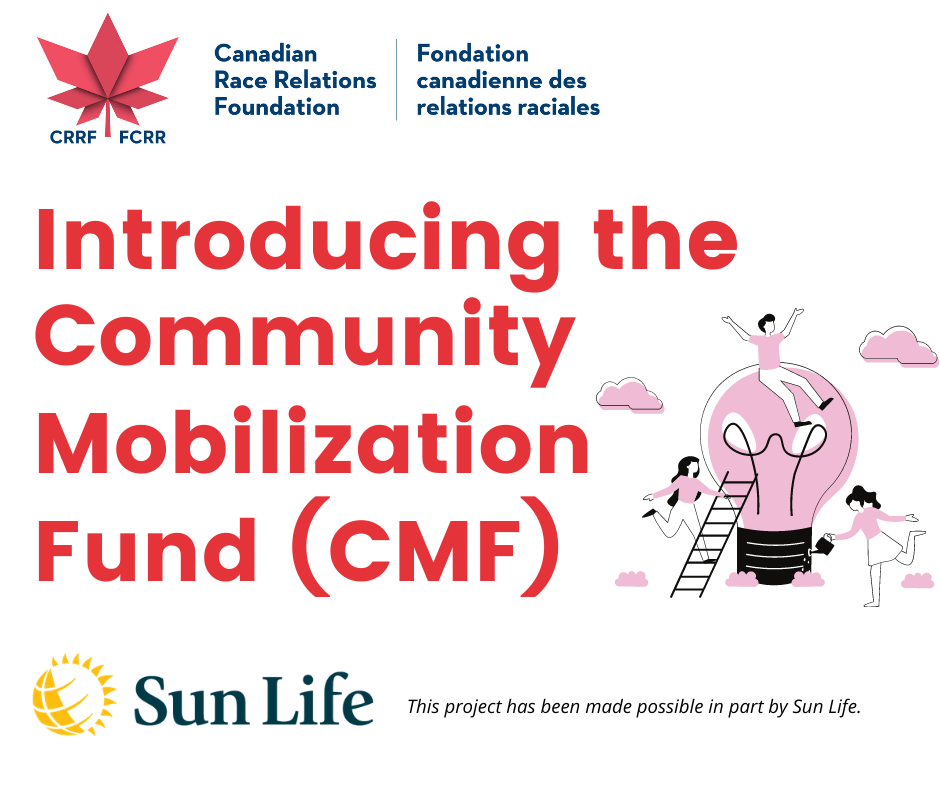 Tomorrow is the LAST DAY to apply for the CRRFs Community Mobilization Fund CMF If your project is focused on anti Black anti Racism or anti Indigenous racism efforts make sure you submit a proposal before Ja 2