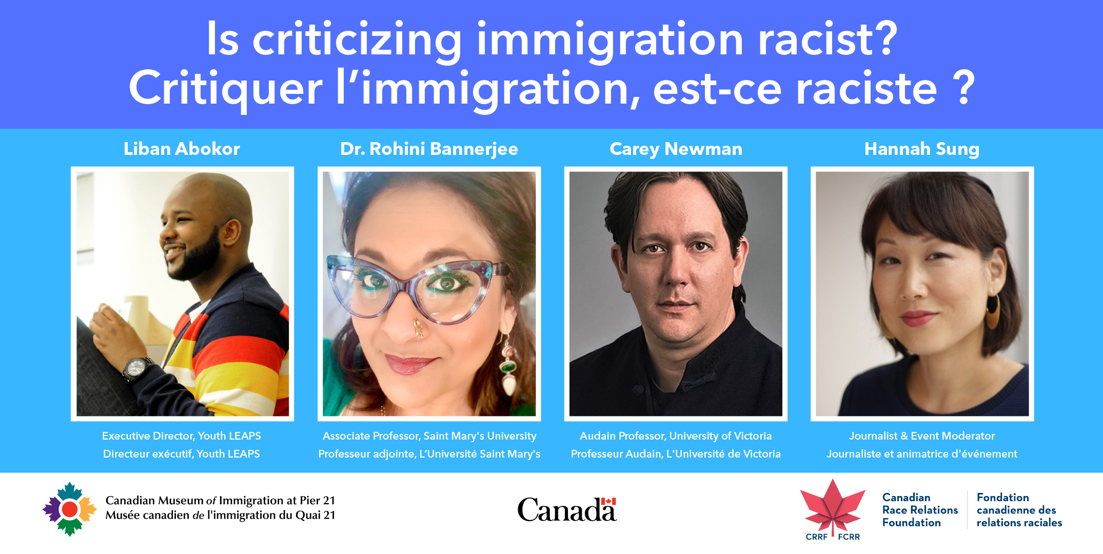 New Webinar: Is Criticizing Immigration Racist?