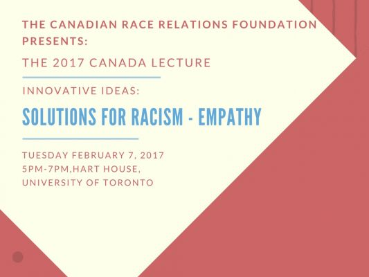 Innovative Ideas - Solutions for Racism: Empathy